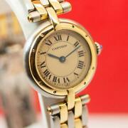 Panthere 166920 Two-tone 24mm Steel And 18k Gold Quartz Ladies Watch