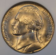 1944-s Jefferson Nickel Ngc 67 All But White