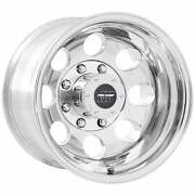 Pro Comp 69 Series Vintage 16x10 Wheel With 8 On 6.5 Bolt Pattern - Polished -