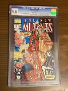 New Mutants 98 Cgc 9.8 White Pages Cracked Case