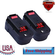 2 Pack Hpb18 Battery For Black And Decker 18 Volt Cordless Power Tools Hpb18-ope