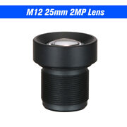 1/3 25mm Lens Cctv Lens M12 Mount Lens Wide Viewing Angle 12 Degree 2.0 S4n6