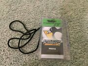 2016 Pittsburgh Penguins Playoffs Media Hockey Ticket Stanley Cup Champions