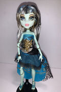 Monster High 13 Wishes Haunt The Casbah Frankie Stein Doll Genie W Clothes Shoes
