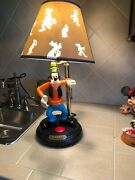 Disney Goofy Lamp , Used Voice Not Working But Lamp Works Great