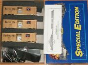 Athearn 2314 Special Edition 40 Ft Gold Boxcar Kit 3-pack Burlington Cbandq
