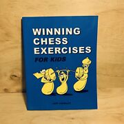Winning Chess Exercises For Kids By Jeff Coakley 8.5 X 11 Page Instruction Book
