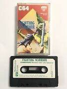 Commodore 64 C64 Fighting Warrior Game Cassette Melbourne House