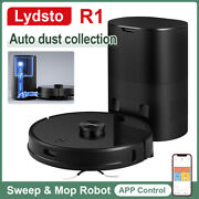 Lydsto R1 Wifi Robot Vacuum Cleaner Floor Dry Wet Mopping Laser Map Us Stock