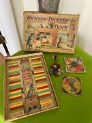 Rare Antique 1900 Hickery Dickery Dock Board Game - Parker Brothers