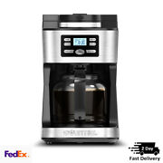 12 Cup Programmable Grind And Brew Coffee Maker Machine Home Kitchen Us Cuisinart