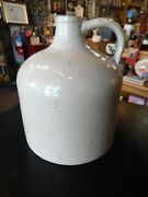Antique Early Red Wing Cream Colored Whiskey Jug