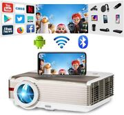 Android Hd Led Proyector 1080p Blue-tooth Wifi Cinema Airplay Backyard Youtube