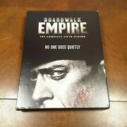 Boardwalk Empire The Complete Fifth Season Dvd 2015 3-disc Set Watched Once