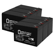 Mighty Max 12v 9ah Battery Replacement For Humminbird Fishfinder 570 - 6 Pack
