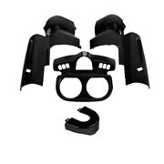 Abs Instrument Housing And Switch Panel Trim Fit For Harley Road Glide 2015-2021