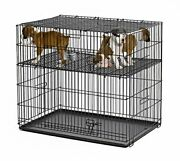 Midwest Homes Puppy Playpen Crate - 224-05 Grid And Pan Included
