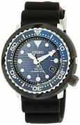[seiko Watch Watch Professional Spex Solar Divers Save The Ocean Limited Blue Di