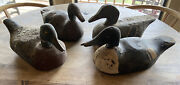 Vintage Duck Decoys Set Of Four Duck Decoys Father's Day Gift For Collectors