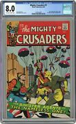 Mighty Crusaders 5 Cgc 8.0 1966 2128105007