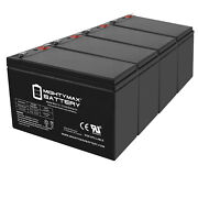 Mighty Max 12v 8ah Battery Replacement For Humminbird Fishfinder 570 - 4 Pack