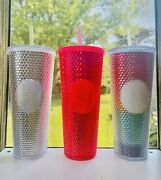 2019 Starbucks Holiday Collection Studded Tumbler Cups + Pride