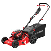 Craftsman 60v 21 Push Mower With 5ah Battery And Charger C
