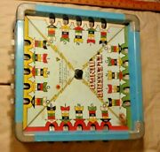 Very Old Incredible Looking Electric Bingo Tin Antique Toy Very Low Price