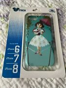 Disney Haunted Mansion Girl Tightrope Stretching Portrait Iphone 6s/7/8 Case New