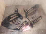 2003 Yamaha Raptor 660 Yfm Heel Guard Foot Tub Well Right And Left Pegs 27dh