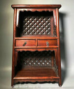 30 Old Chinese Huanghuali Wood Dynasty Container Drawer Cupboard Cabinet