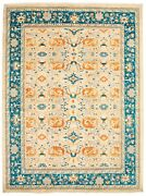 Hand-knotted Carpet 9and0392 X 12and0393 18 Of 20 Pak Finest Traditional Wool Rug