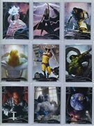 2020 Marvel Masterpieces Complete Base Set With All Ssp's 1-90