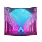 Beeple Wall Tapestry Large 104 X 88 Beeple-crap.com Miami Crypto