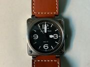 Bell And Ross Br01-92 S Stainless Steel Automatic 46mm - Lovely Big Watch