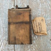 Ford Model A Or T Buzz Box Ignition Coil With Coil Points