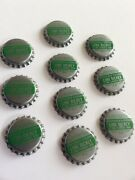 Vtg Lot Of 10 Metal Pop Shoppe Bottle Caps Lime Rickey Soda Crafts Collections