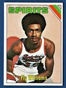 1975 Topps Basketball Aba- 293 Fly Williams- Rookie- Spirits Of St. Louis- Nm-m