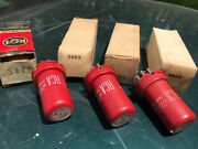 Rca Red 6sj7 5693 Two Matched Pairs Tube Amplifier Audio Pre Amps