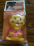 Binky Zoo Pals Vintage Squeaky Toy Lion 4 Still Squeaks