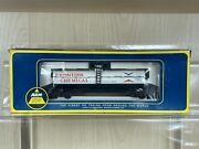 Vintage Ahm By Roco 5276f Frontier Chemical Single Dome Tank Car In Box