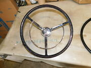 1961 Ford Nos Steering Wheel And Used Horn Ring