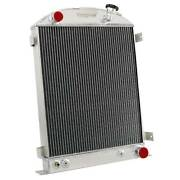 3 Row Aluminum Radiator For 1931 32 1933 1934 Ford-grill-shells Chevy V8 Engine