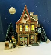 Dept 56 Dickens Village Welcoming Christmas Gift Set Candle Lights Beautiful