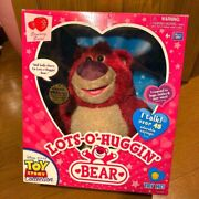 Rare Toy Story Collection Lots-o-huggin' Bear Talking Plush Doll Japanese Ver.