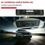 Car Air Conditioning Clima Switch Button Replacement For Bmw X5/e53 E39 Repair