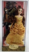 Nib Disney Fairytale Designer Collection Doll Limited Edition Belle/the Beast