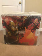 Hot Toys Marvel Avengers Age Of Ultron Hulkbuster Deluxe Version Mms510 New