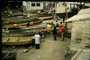 Lot Of 40 35mm Slides - Fishing Boats And Fishermen From Around The World