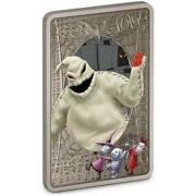 The Nightmare Before Christmas Oogie Boogie - 2021 1 Oz Pure Silver Coin - Niue